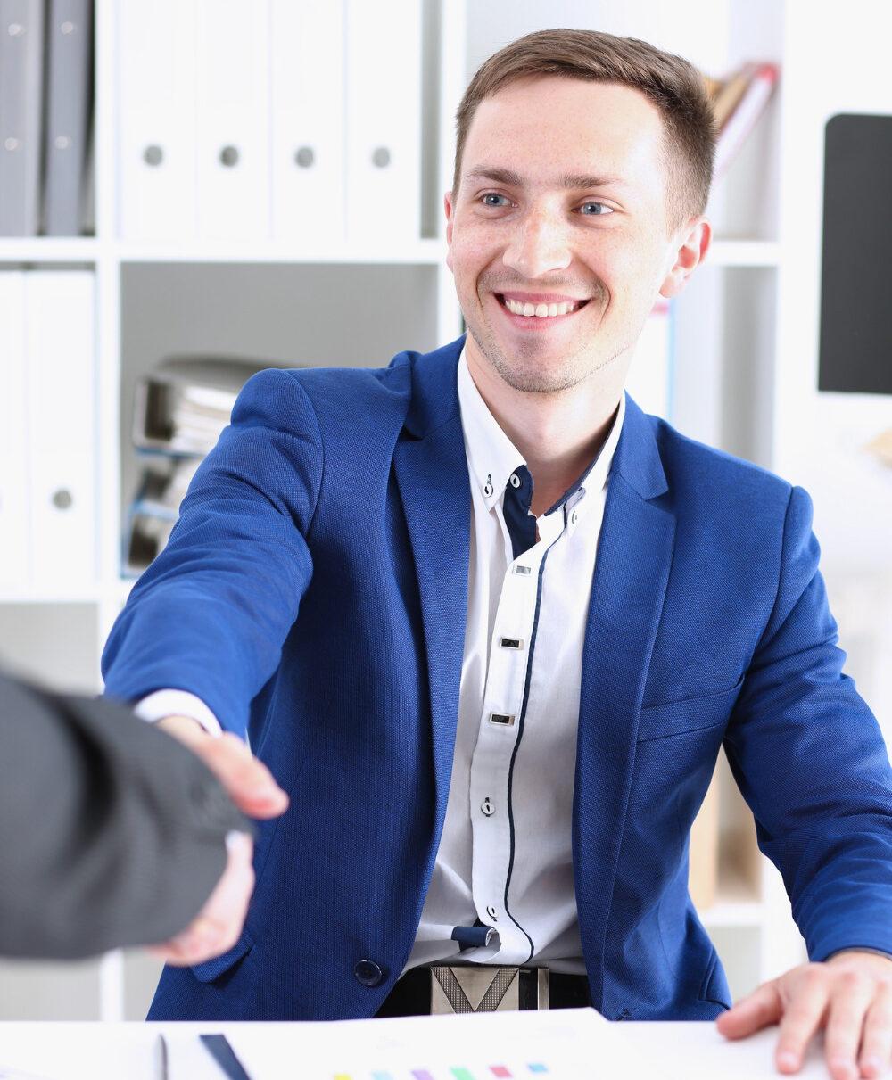 handshake new job