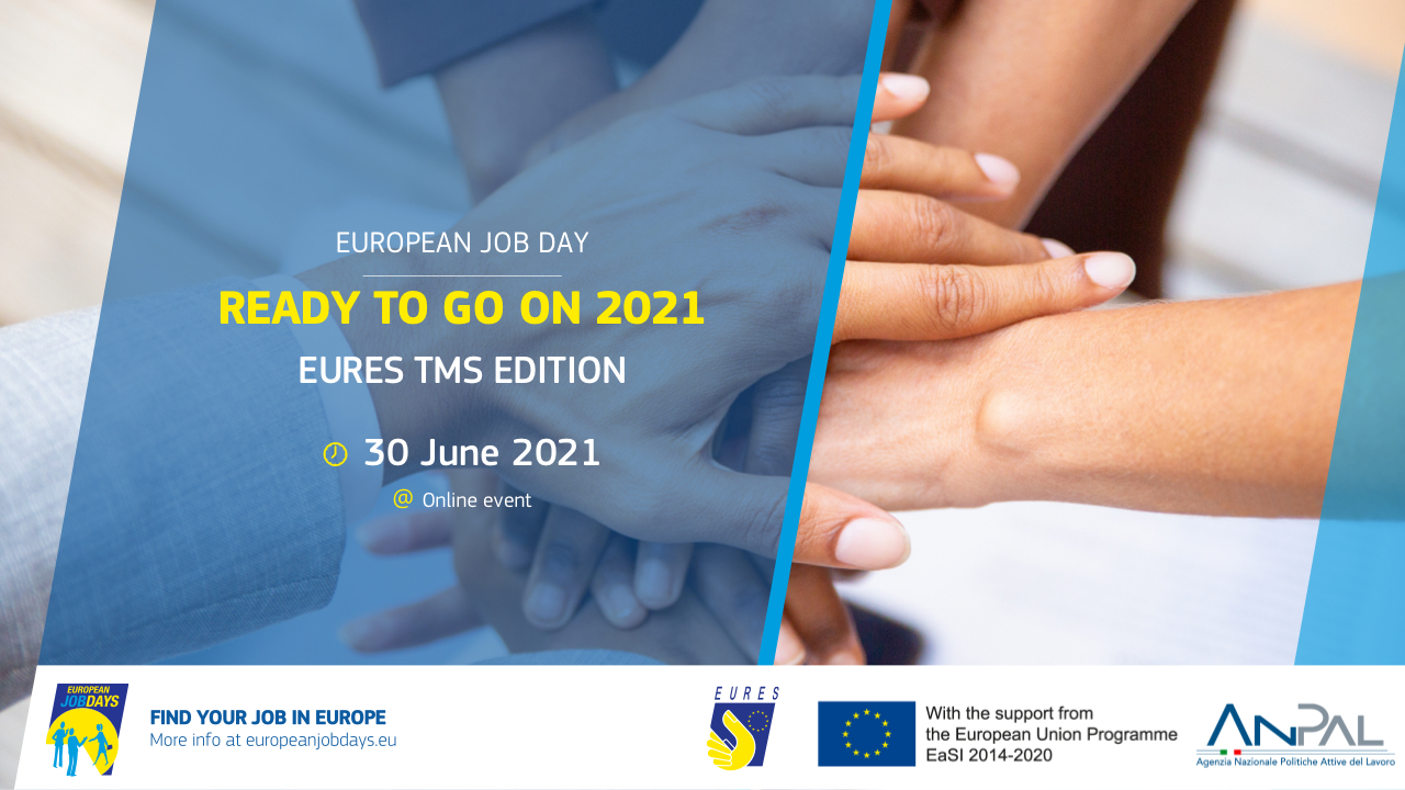 EURES Targeted Mobility Scheme: project launched at European online Job Day Ready To Go On 2021 – Italy